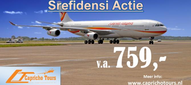Srefidensi Actie naar Suriname €759,- All-in*
