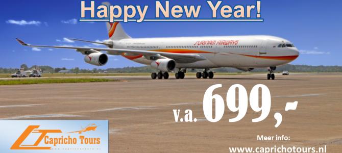 Nieuwjaarsactie naar Suriname €699,- All-in*