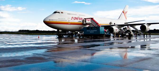 Nieuw: Zanderij Airport Service (ZAS)