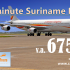 Last Minute Promo naar Suriname €675,- All-in*