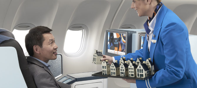 KLM World Business Class Actie Suriname