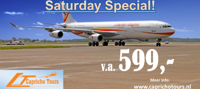 Saturday Special Suriname €599,- All-in*