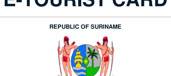 Aanvraag E-Tourist Card