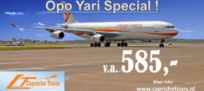 Opo Yari Special Suriname €585,- All-in*