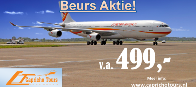 Surinam Airways Knock-Out Promo €499,- All-in*
